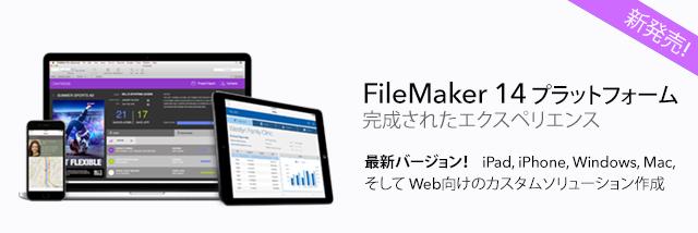 FileMaker Pro 14 Banner